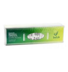 Zahnstocher aus Holz Gedrechselt Umhüllt 65mm (1 Stück)