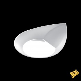 "Plastikteller ""Smart"" weiß 8,6x7,1 cm (500 Stück)"