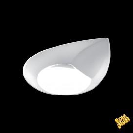 "Plastikteller ""Smart"" weiß 8,6x7,1 cm (50 Stück)"