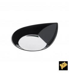 "Plastikteller ""Smart"" Schwarz 8,6x7,1 cm (500 Stück)"