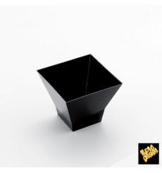 "Plastikbecher ""Pagoda""  Schwarz 65ml (500 Stück)"