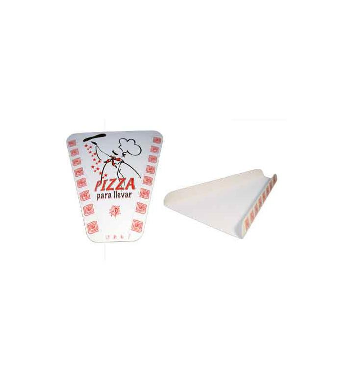 Pappteller für ein Pizzastück (100 Stück)