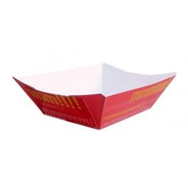Pommesschale Pappe 350ml 10,6x7,3x4,5cm (50 Stück)