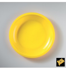 Plastikteller Flach Weiß Ø220mm (300 Stück)