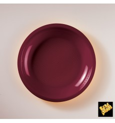 Plastikteller Flach Gold Ø220mm (50 Stück)