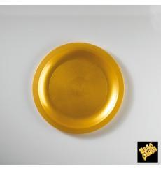 Plastikteller Flach Weiß Ø185mm (25 Stück)