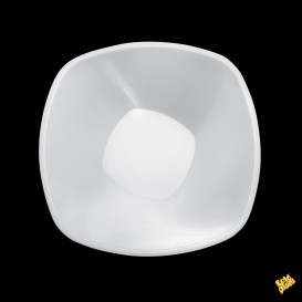 Plastikschale Rund Weiß Ø210mm 1250ml (3 Stück)