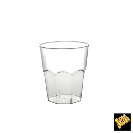 Plastikbecher für Cocktail Transp. PS Ø73mm 220ml (500 Stück)