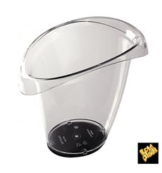 Flaschenkühler aus Plastik Transp. SAN (1 Stück)