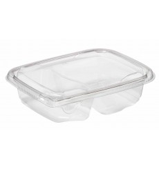 Salatschale aus Plastik 180x140x40mm PET 600ml (65 Stück)