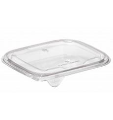 Deckel Flach für Plastiksalatschale PET 12x12cm (1000 Stück)