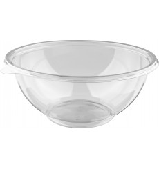 Salatschale aus Plastik Flach PET 750ml (300 Stück)