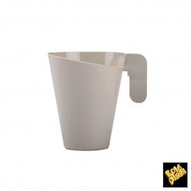 Plastiktasse Design Creme155ml (12 Stück)