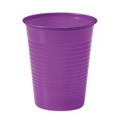 Plastikbecher Violett PS 200ml (100 Stück)