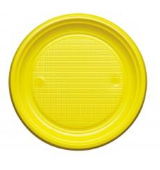Plastikteller Flach Dunkelblau PS 220mm (30 Stück)