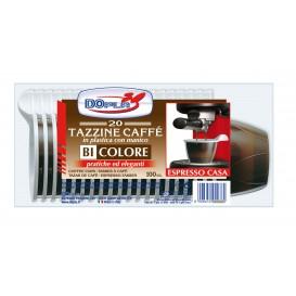 Plastiktasse PS Schokolade 100 ml (20 Stück)