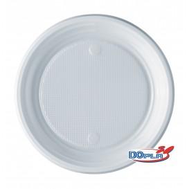 Plastikteller PS flach weiß 170mm (100 Stück)