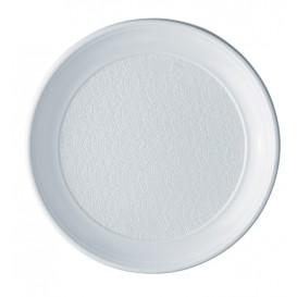 Plastikteller PS flach weiß 250mm (100 Stück)