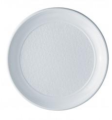 Plastikteller flach weiß PS 250 mm (100 Einh.)