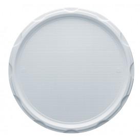 Plastikteller PS für Pizza weiß 320mm (100 Stück)