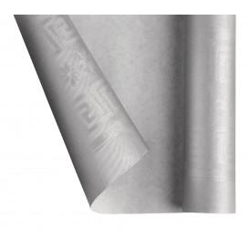Rolle Papiertischdecke Silber 1,2x7m (25 Stück)