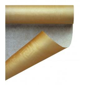 Rolle Papiertischdecke Gold 1,2x7m (25 Stück)