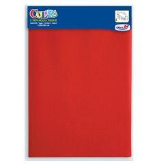 Tischsets, Papier rot 1,2x1,8m (1 Stück)