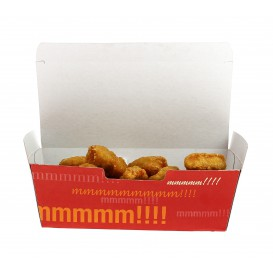 SnackBox mit Deckel To Go 16,5x7,5x6cm (600 Stück)