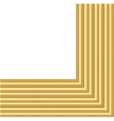 Papierservietten Gold 2-lagig 33x33 cm (480 Stück)