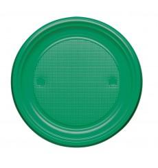 Plastikteller PS Flach Grün Ø220mm (30 Stück)