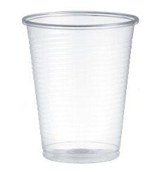 Plastikbecher PP Transparent 200ml Ø7,0cm (100 Stück)