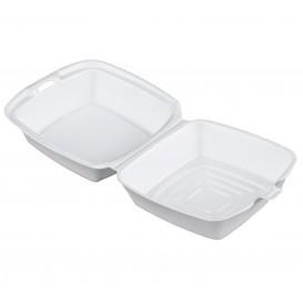 Burger-Box Styropor weiß 150x150x80mm (500 Stück)