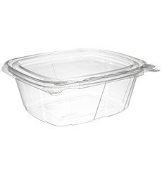 Plastikbehälter PET Unverletzlich Deckel Flach 355ml (200 Stück)