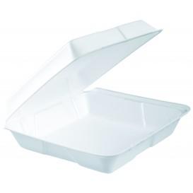Verpackung EPS Menübox Weiß 240x235mm (200 Stück)
