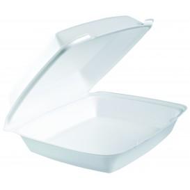 Verpackung EPS Menübox Weiß 260x240mm (100 Stück)