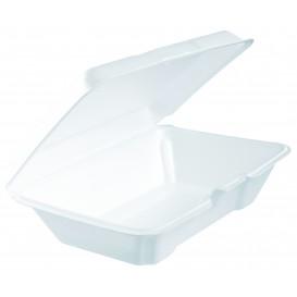 Verpackung EPS LunchBox Weiß 230x150mm (100 Stück)