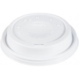 "PlastikDeckel PS ""Cappuccino"" Weiß 24Oz/710 ml (100 Stück)"