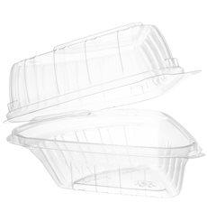 """Plastikschale Klappdeckel OPS """"Clear Seal"""" Stück Kuchen 169ml (125 Stück)"""