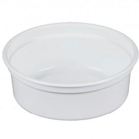 "Behälter aus Plastik PP ""Deli"" 8Oz/266ml Weiß Ø120mm (500 Stück)"