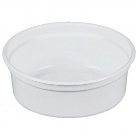"Plastikbehälter PP ""Deli"" 8Oz/266ml Weiß Ø120mm (25 Stück)"