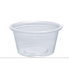 Dressingbecher Plastik PP für Soβen 25ml Ø48mm (125 Stück)