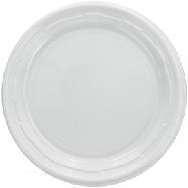 """Plastikteller PS """"Famous Impact"""" Weiße Ø150mm (125 Stück)"""