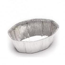Aluschalen oval für Hähnchen 2.400ml (125 Stück)