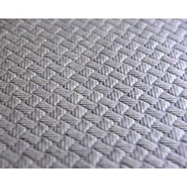 Rolle Papiertischdecke Grau 1x100m 40g (1 Stück)