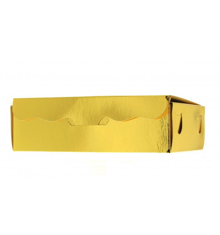 Box für Süßwaren gold 17x10x4,2cm (50 Stück)