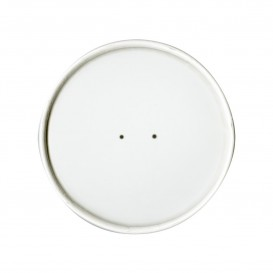 Kartondeckel Weiß Ø9,1cm (25 Stück)