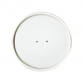 Kartondeckel Weiß Ø9,8cm (25 Stück)