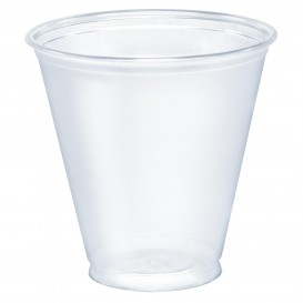 Plastikbecher PET Solo Ultra Clear 5Oz/148 ml Ø7,1cm (100 Stück)