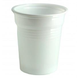 Plastikbecher PS Weiß 100ml Ø5,7cm (100 Stück)