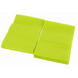 "Spenderservietten Papier ""Miniservis"" Pistaziengrün 17x17cm (160 Stück)"